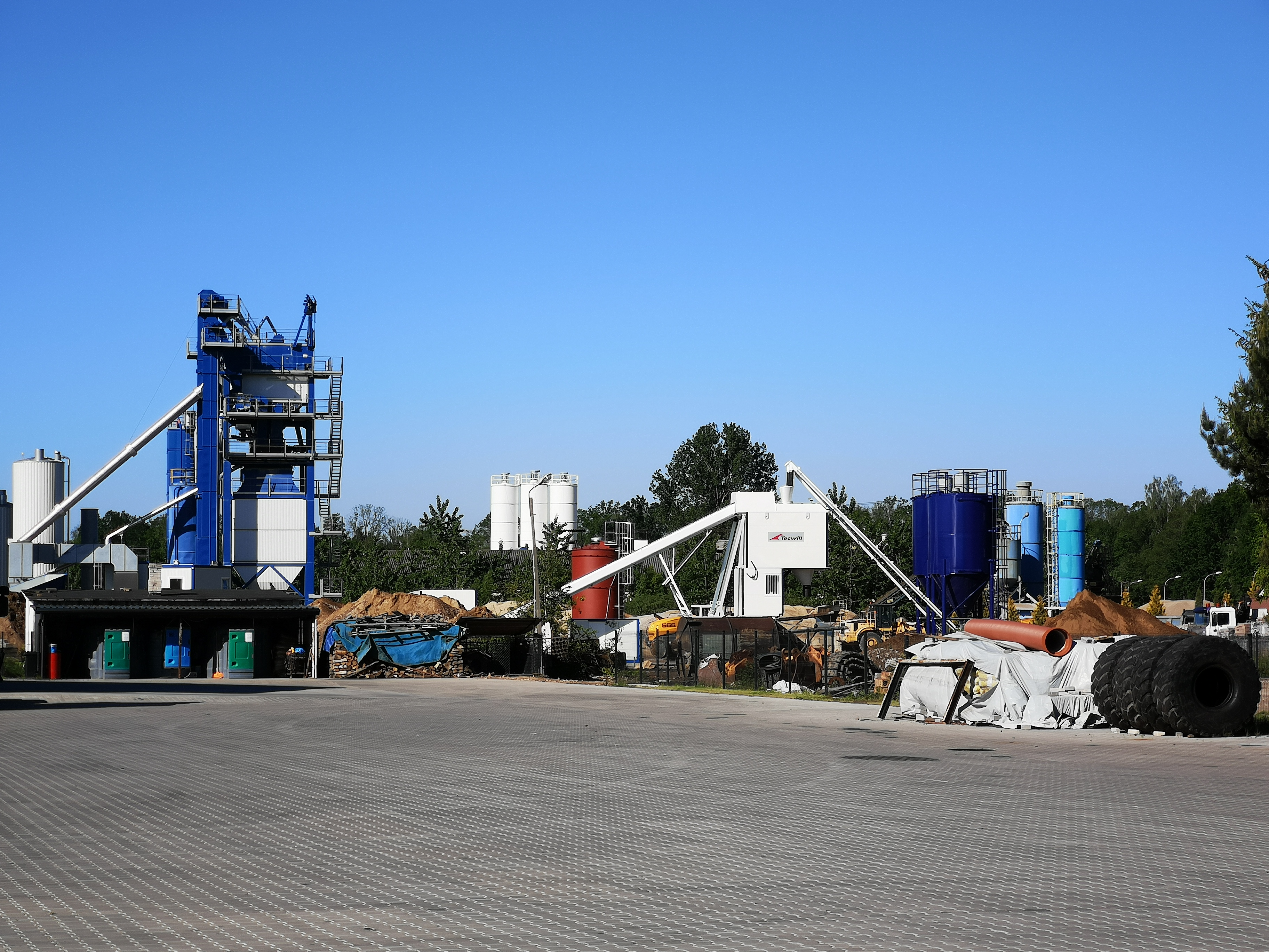 Customers production site