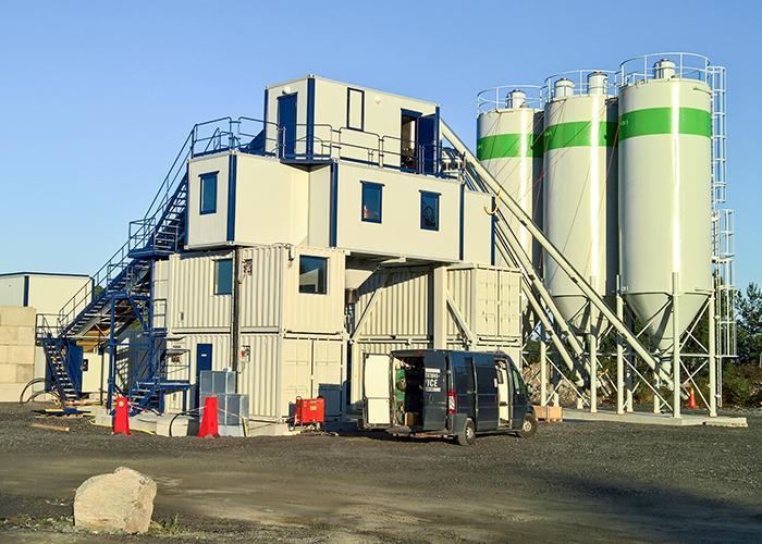 ARCAMIX 3.33 fädigbetongfabrik,  Skanska Asfalt & Betong, Göteborg, Sverige.