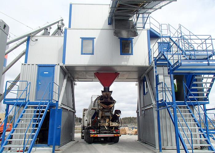 Arcamix 3.0 ready mix plant, Nordisk Betong, Norrköping, Sweden