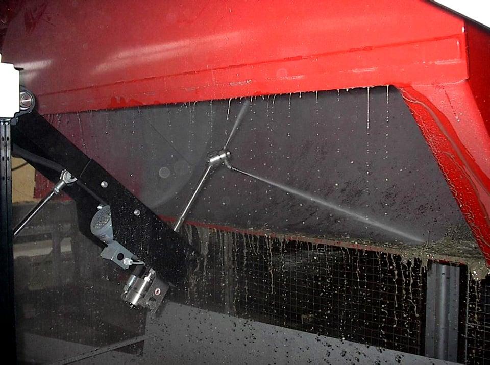 Kuva 5. Kuupan automaattipesuri toiminnassa