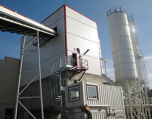 Elementti tai tuotetehtaan betoniaseman hankinta