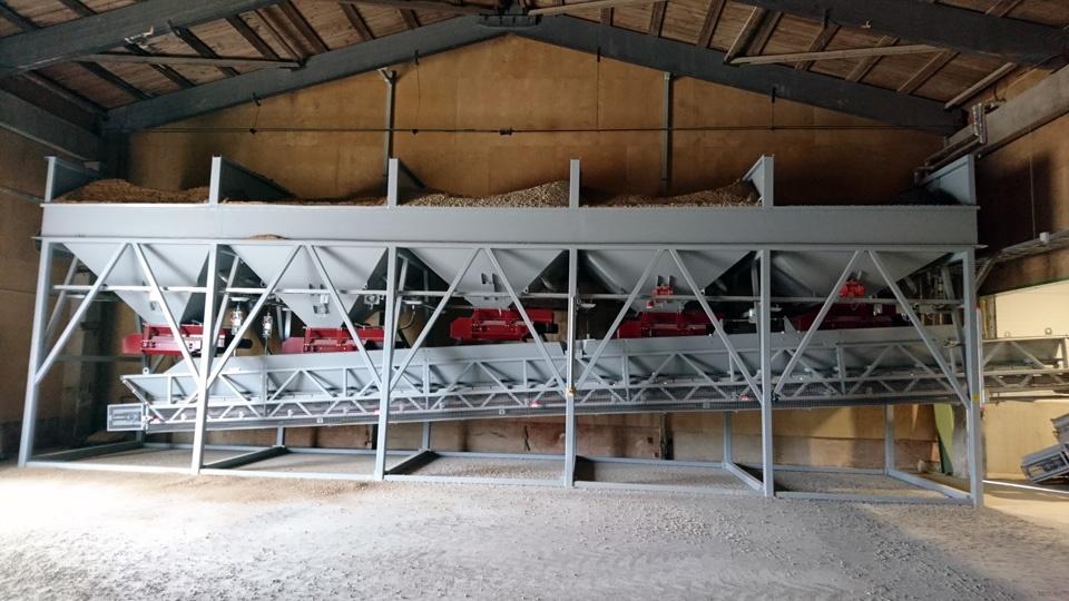 Uusi Tecwill elementtitehtaan betoniasema Viroon