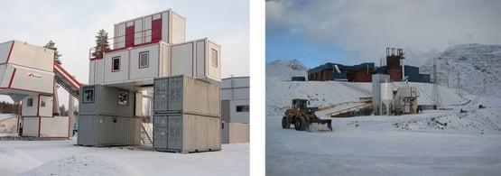 Demontaż i ponowna instalacja wyposażenia zimowego w momencie przenoszenia węzła betoniarskiego.