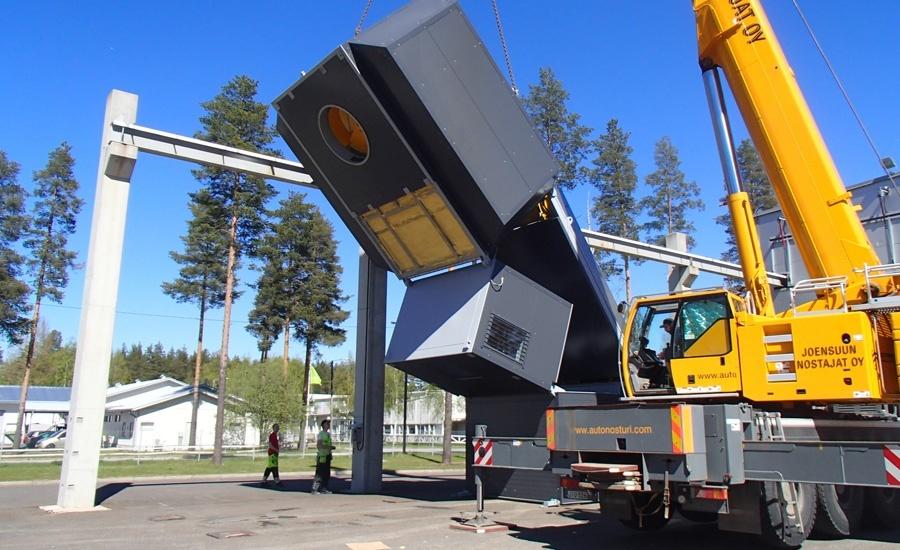 Uusi yritys aloitti valmisbetonin tuotannon kahdella uudella Tecwill betoniasemalla