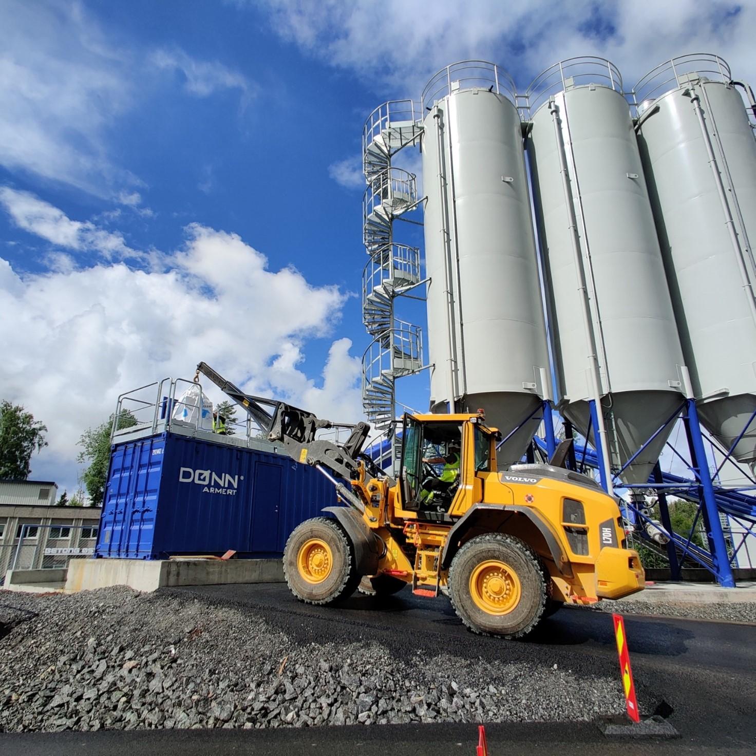 Fibre concrete, Ready-mix concrete